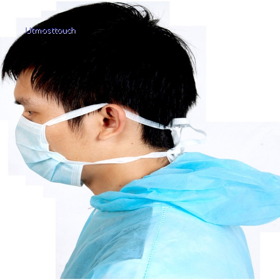 Face Mask With Tie Back